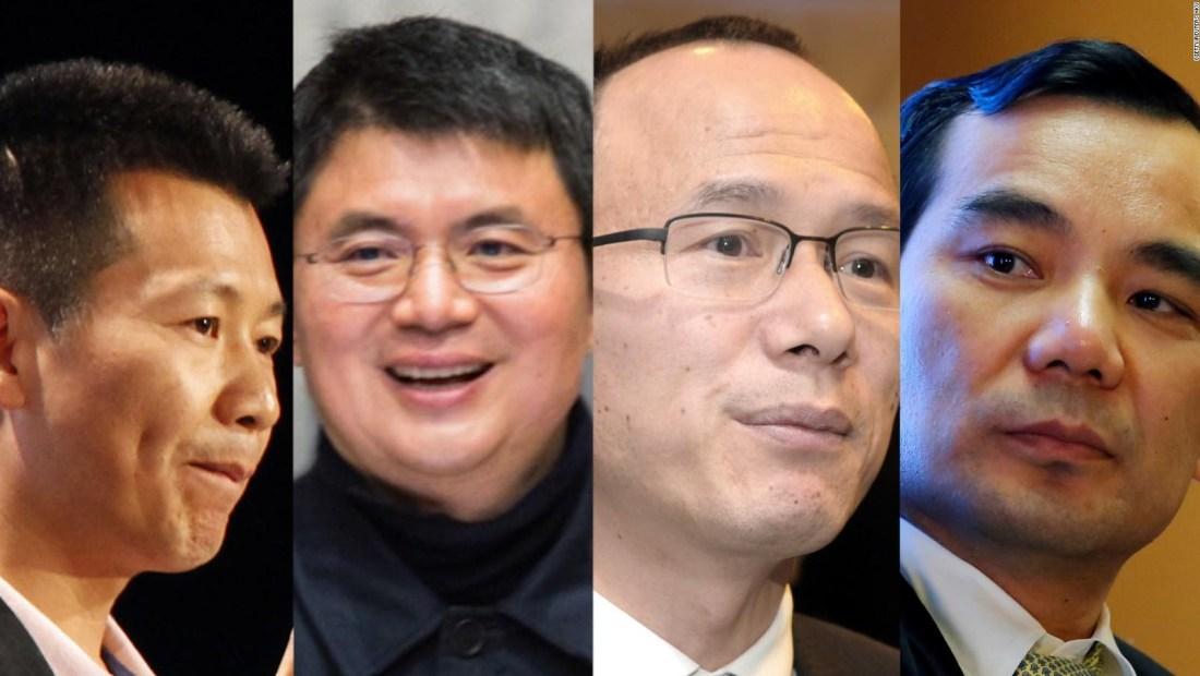 Altos ejecutivos de China siguen desapareciendo