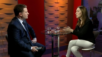 """María Eugenia Vidal: """"El desacuerdo no es con los docentes, es con los dirigentes gremiales"""""""