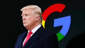 A Trump no le gusta las respuestas de Google