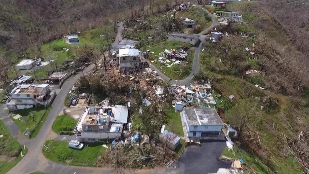 2.975 vs. 64: el contraste de la cifra de muertos que dejó María por Puerto Rico