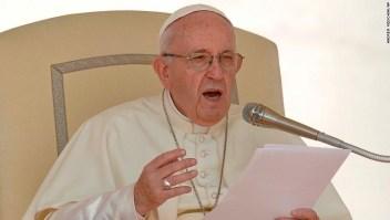 Papa Francisco durante su audiencia diaria en el Vaticano. (Crédito: AP Photo/Andrew Medichini)