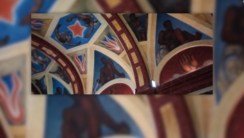 #ElDatoDeHoy: restauran murales de Diego Rivera