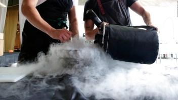 Preparar alimentos con nitrógeno puede matar
