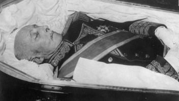Inician procedimiento para exhumar a Franco del Valle de los Caídos