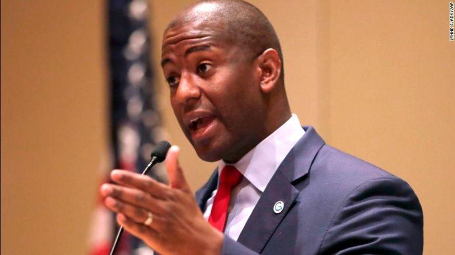 Andrew Gillum, candidato demócrata a gobernador en Florida, podría ser el primer gobernador negro del estado.