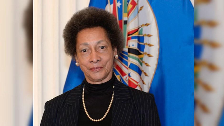 Margarette May Macaulay, presidenta de la Comisión Interamericana de Derechos Humanos. (Crédito: CIDH).