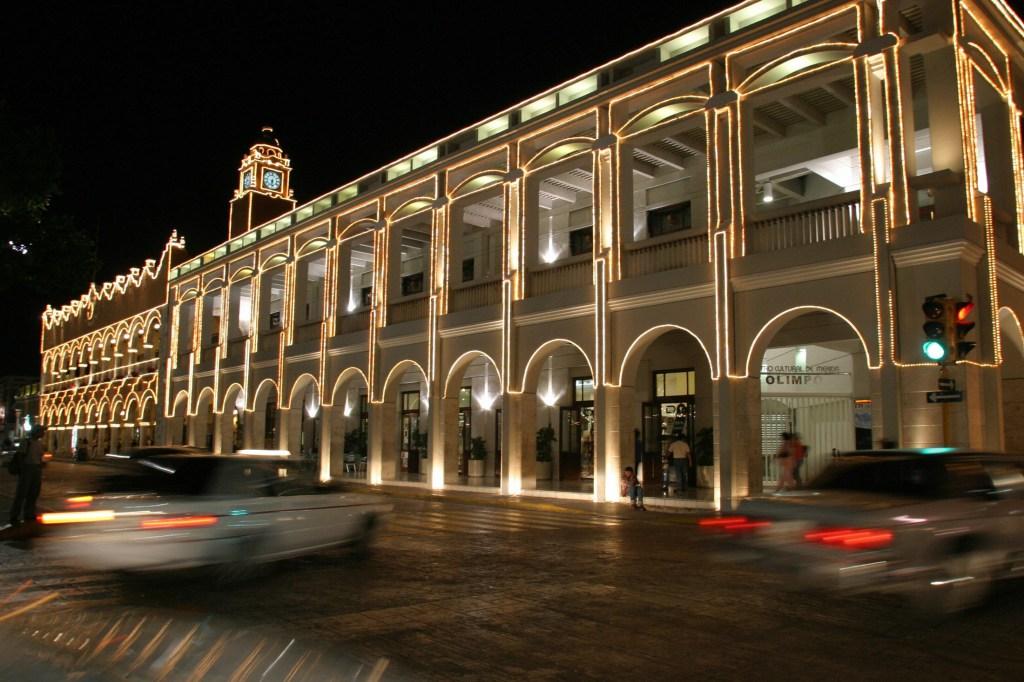 Ayuntamiento de Mérida, ciudad por la que pasará el Tren Maya. (Crédito: OMAR TORRES/AFP/Getty Images)