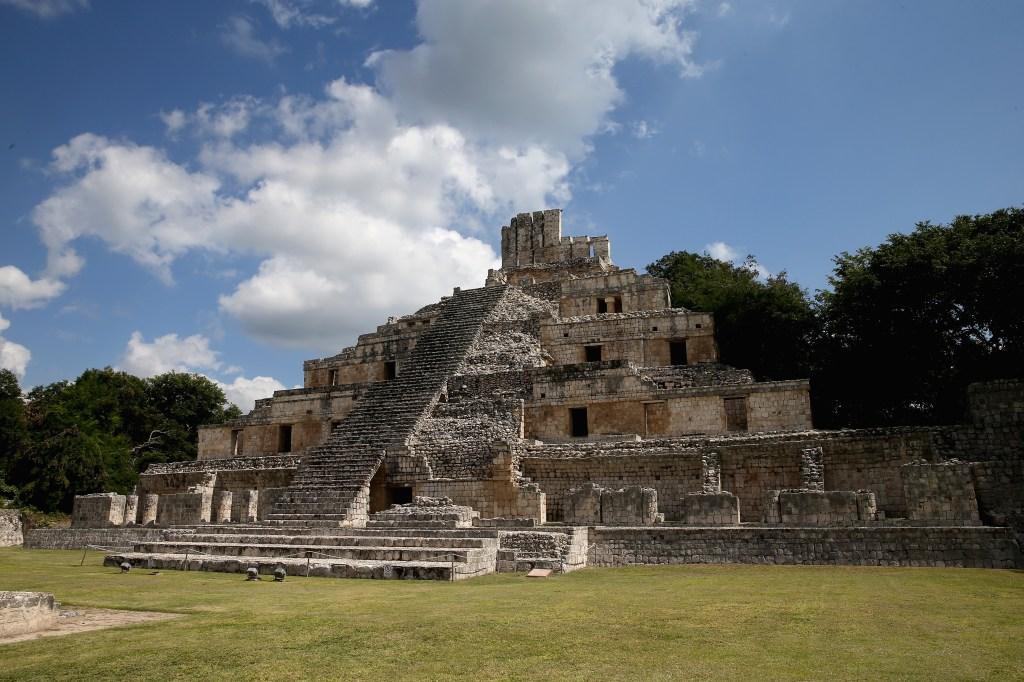 Sitio arqueológico maya de Campeche, otras de las ciudades por las que pasará el Tren Maya. (Crédito: Chris Jackson/Getty Images)