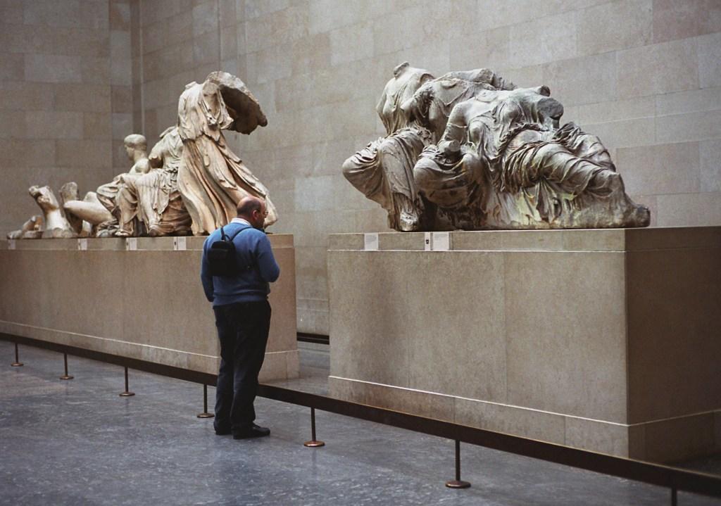 Arte griego en el Museo Británico de Londres. (Crédito: Getty Images).
