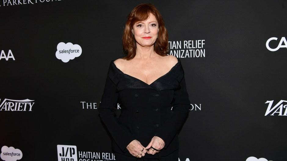 """Susan Sarandon. """"¡Den a las mujeres el derecho de elegir!"""", dijo la actriz en Twitter a los senadores de Argentina."""
