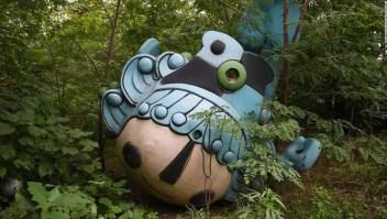 Objetos abandonados 10 años después de los Juegos Olímpicos de Beijiing