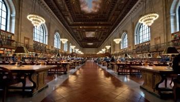 Biblioteca en Nueva York presta corbatas