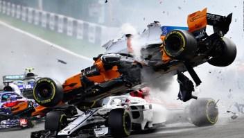 5 accidentes que todo seguidor de la Fórmula 1 recuerda