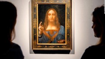 """Subasta de arte: el """"Salvator Mundi"""" de Leonardo da Vinci"""
