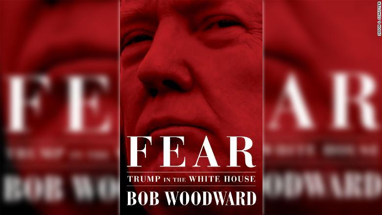 Portada del libro 'Fear. Trump in the White House', de Bob Woodward.