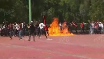 Estudiantes de la UNAM exigen renuncia del rector