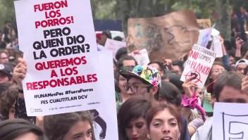 Marchan universitarios por la educación
