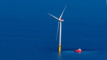 #ElDatoDeHoy: parque eólico sobre el mar