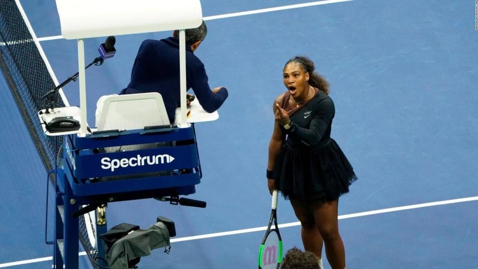 Así denunció Serena Williams el sexismo en el tenis