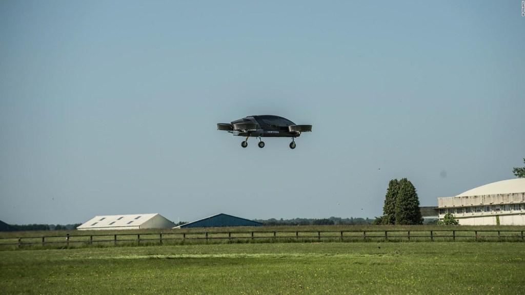 ¿Qué tan cerca están los taxis voladores?