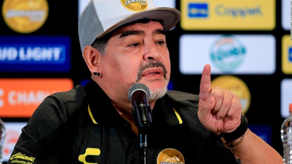 Maradona y 5 controversias de su llegada a Sinaloa
