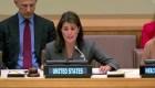 Nikki Haley denuncia corrupción de Maduro en la ONU