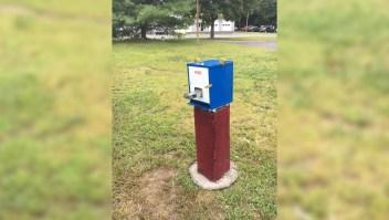Negocio insólito: máquinas expendedoras de pipetas para fumar crack