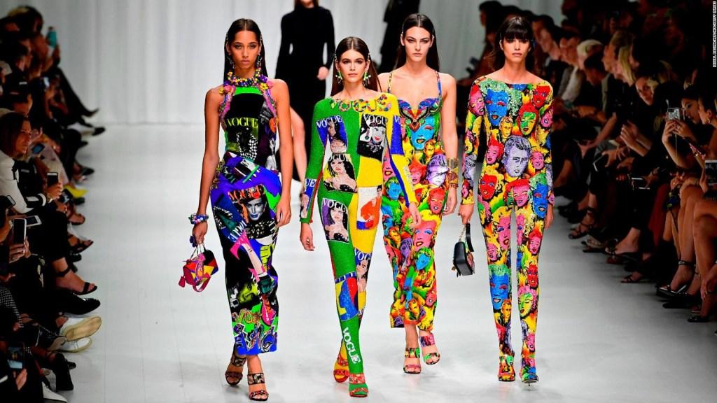 #Pasarela: Versace, primavera-verano 2018