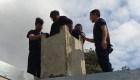 Un ladrón en Argentina quiso escapar por la chimenea y quedó atorado