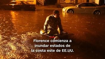 #MinutoCNN: Huracán Florence ya causa estragos en EE.UU.