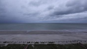 #LaImagenDelDía: Myrtle Beach, desierta por el paso del huracán Florence