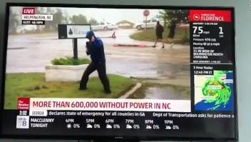 ¿Exagera este meteorólogo sobre la fuerza de Florence?