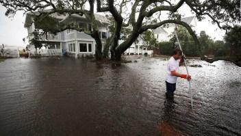 Sigue la alerta por posibles inundaciones en Carolina del Norte