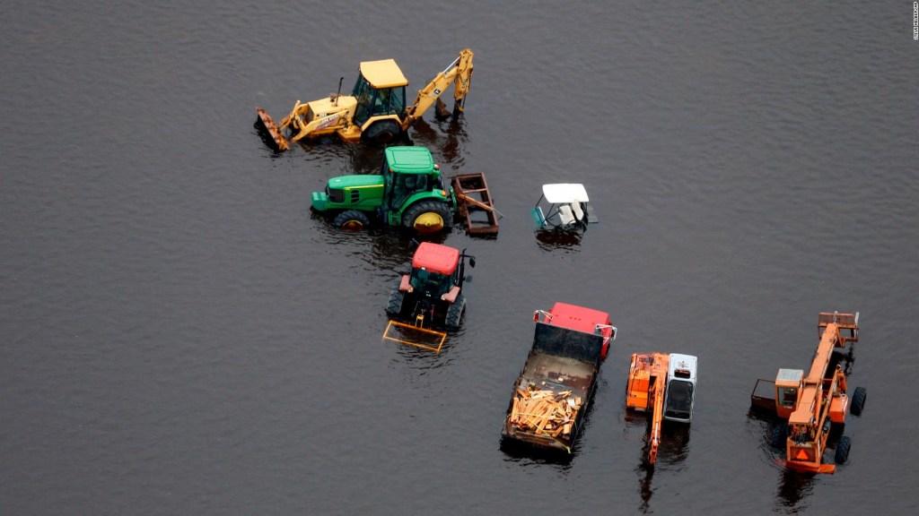El riesgo en Carolina del Norte no ha disminuido tras el paso de Florence