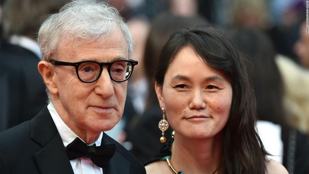 Soon-yi Previn junto a Woody Allen