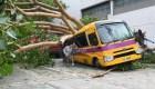 Mira la destrucción que dejó el tifón Mangkhut