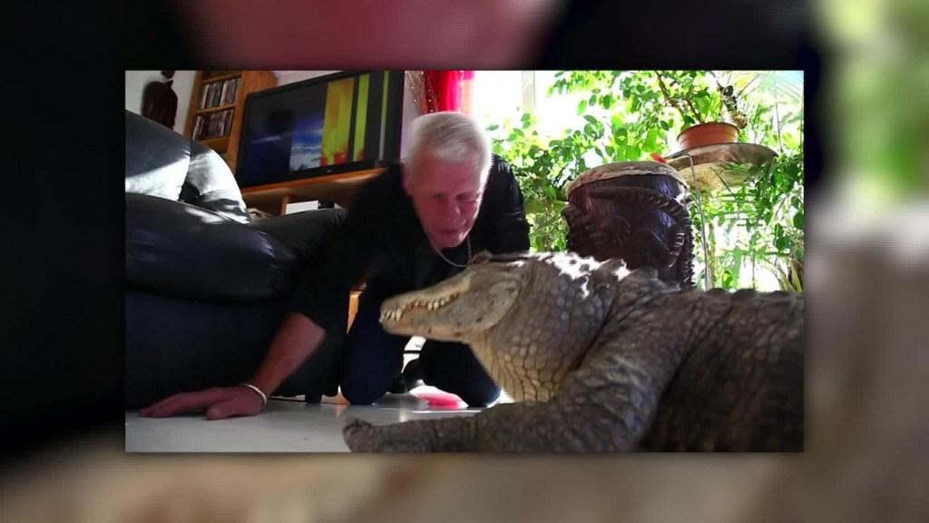 El hombre que ama a los reptiles