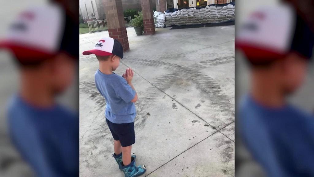 La fe de Carter para para al huracán Florence