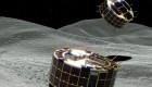Las primeras imágenes tomadas desde un asteroide