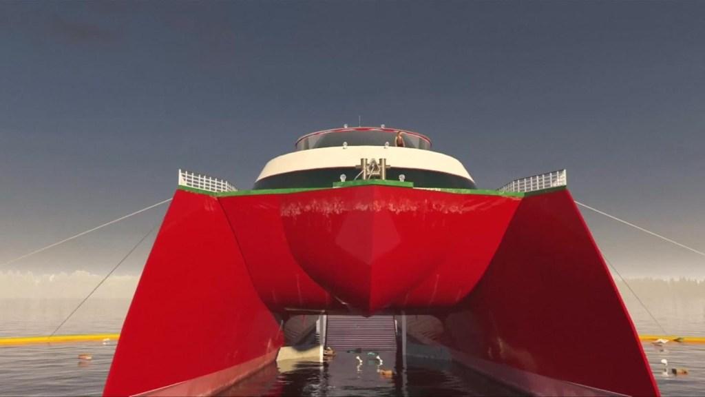 Embarcación Ocean Saviour podrá convertir plástico en combustible