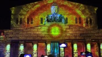 """#ElDatoDeHoy: arte multimedia para """"salvar"""" la cultura y los teatros en Moscú"""