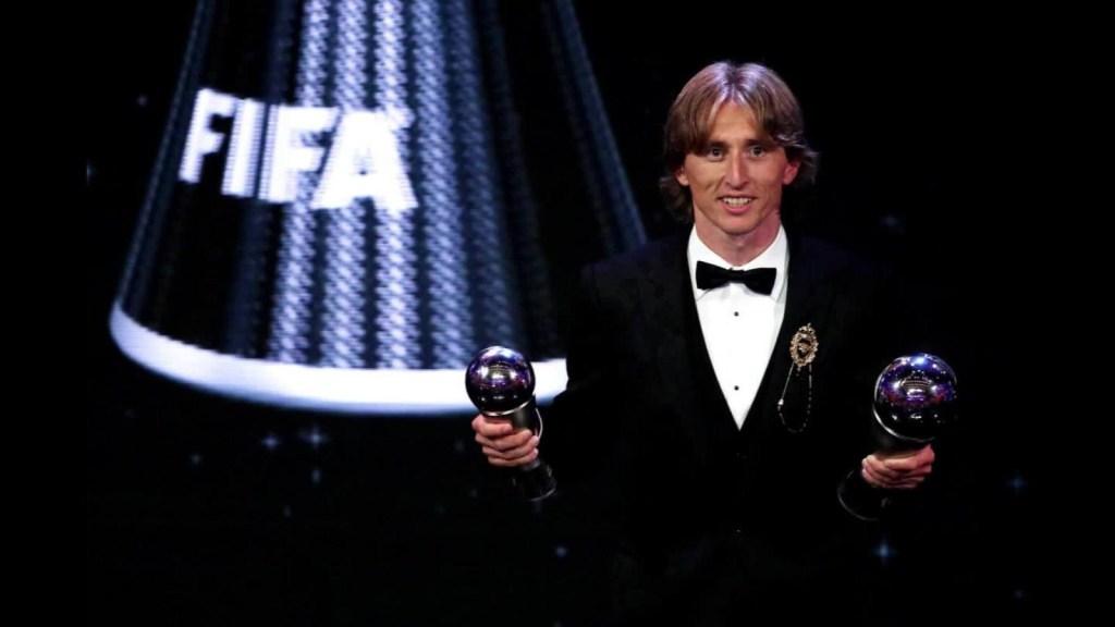 Luka Modrić, el nuevo mejor jugador del año de la FIFA