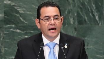 Presidente de Guatemala solicita nuevo comisionado para la Cicig