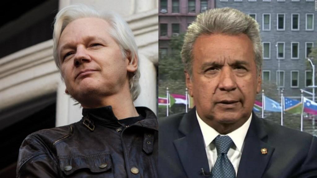 """Moreno: Ecuador tendría pronto """"una solución"""" al caso Assange"""