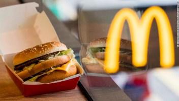 La clásica Big Mac será una de las hamburguesas a las que eliminarán conservantes artificiales.
