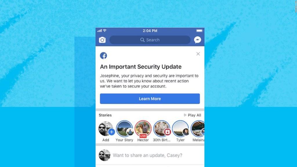 Ataque cibernético en Facebook, ¿cómo saber si tu cuenta fue afectada?