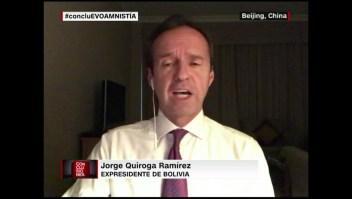 """A mí deberían condecorarme"": Quiroga"