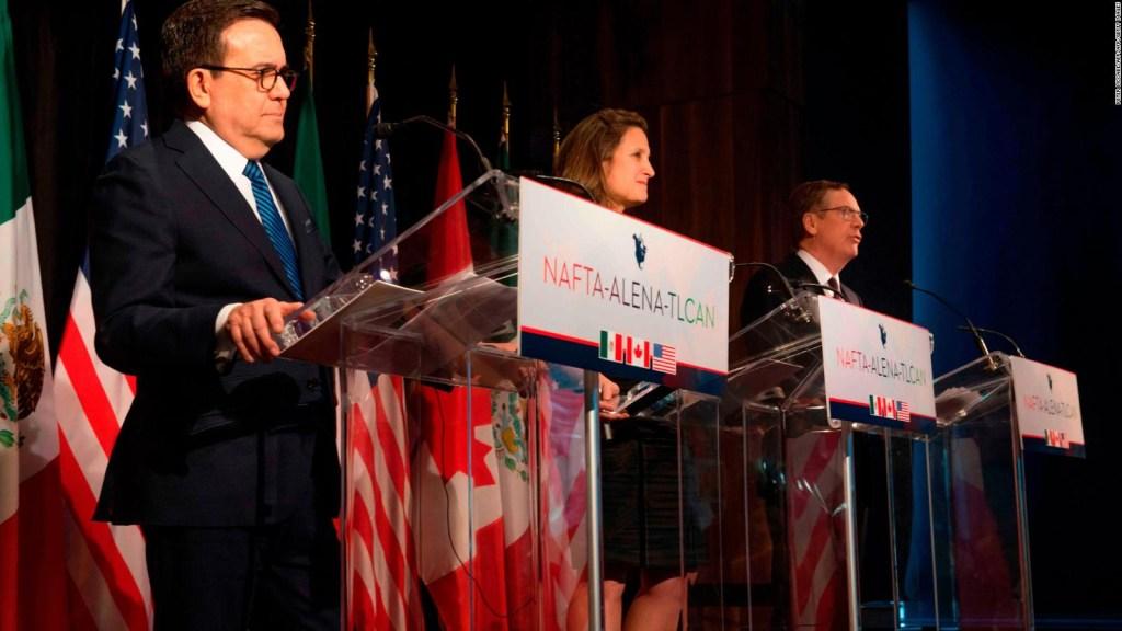 ¿Un NAFTA sin Canadá? México y EE.UU. buscan acuerdo final