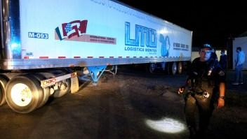 El contenedor frigorífico transportó más de 200 cadáveres por el estado de Jalisco. (Crédito: ULISES RUIZ/AFP/Getty Images)
