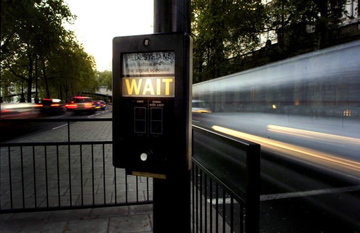 Un cruce peatonal en Londres. (Crédito: Newscast / UIG / Getty Images)